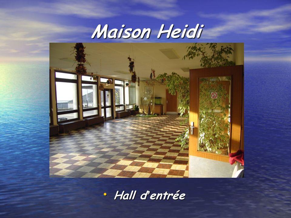 Maison Heidi Hall d'entrée