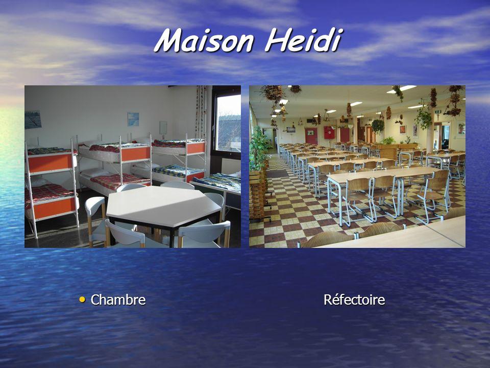 Maison Heidi Chambre Réfectoire