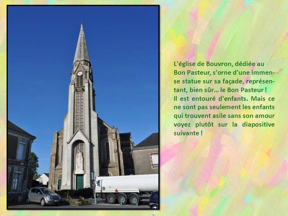 L église de Bouvron, dédiée au