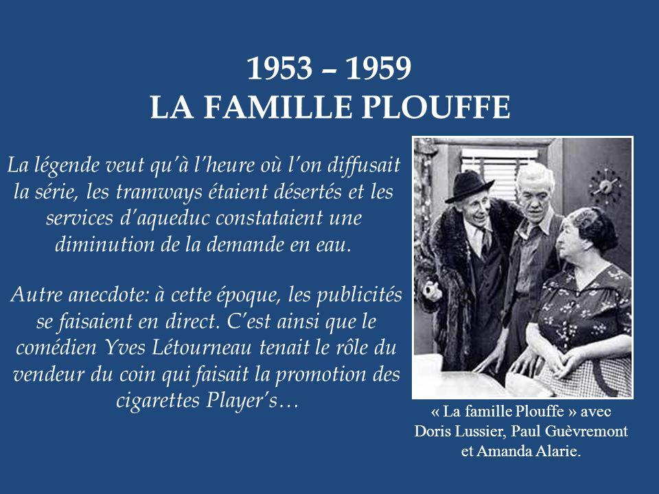 1953 – 1959 LA FAMILLE PLOUFFE.