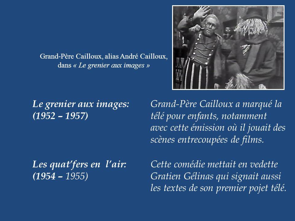 Le grenier aux images: Grand-Père Cailloux a marqué la