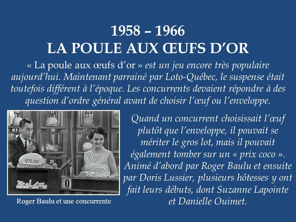 Roger Baulu et une concurrente