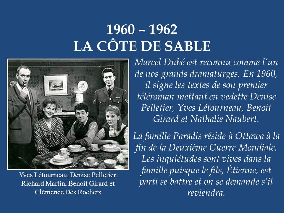 1960 – 1962 LA CÔTE DE SABLE.