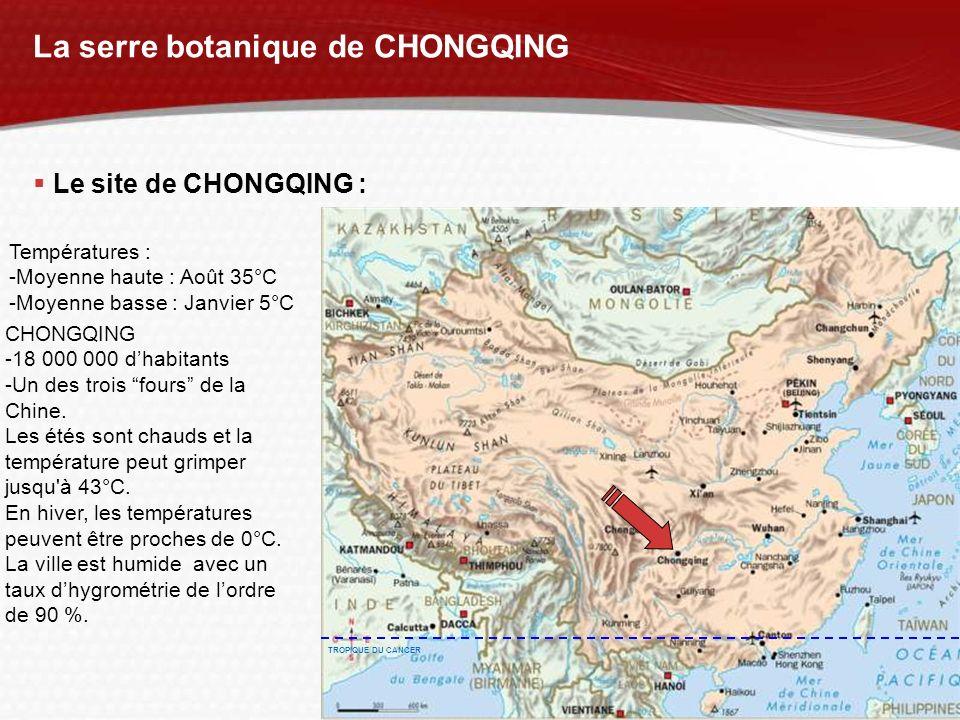 La serre botanique de CHONGQING