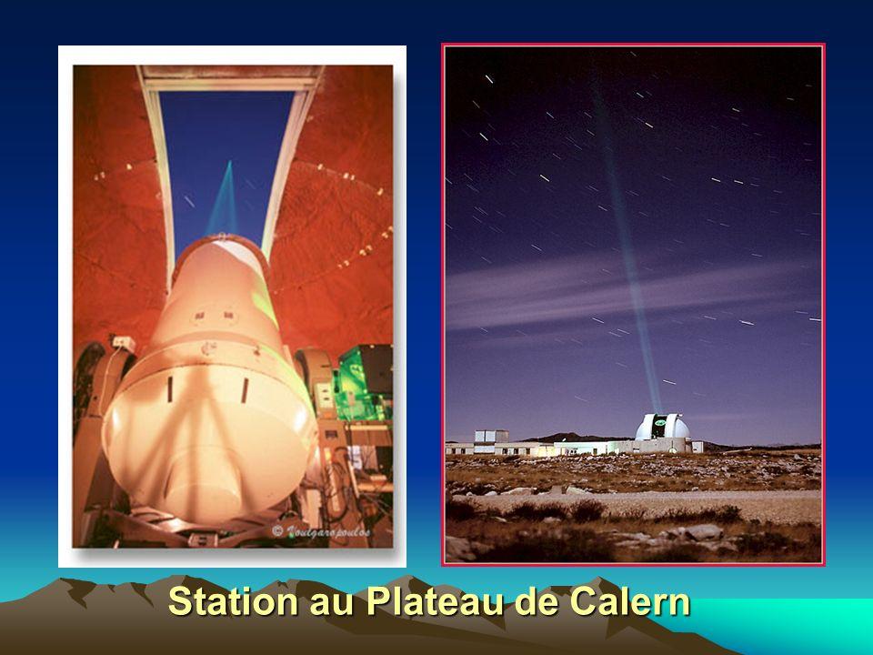 Station au Plateau de Calern