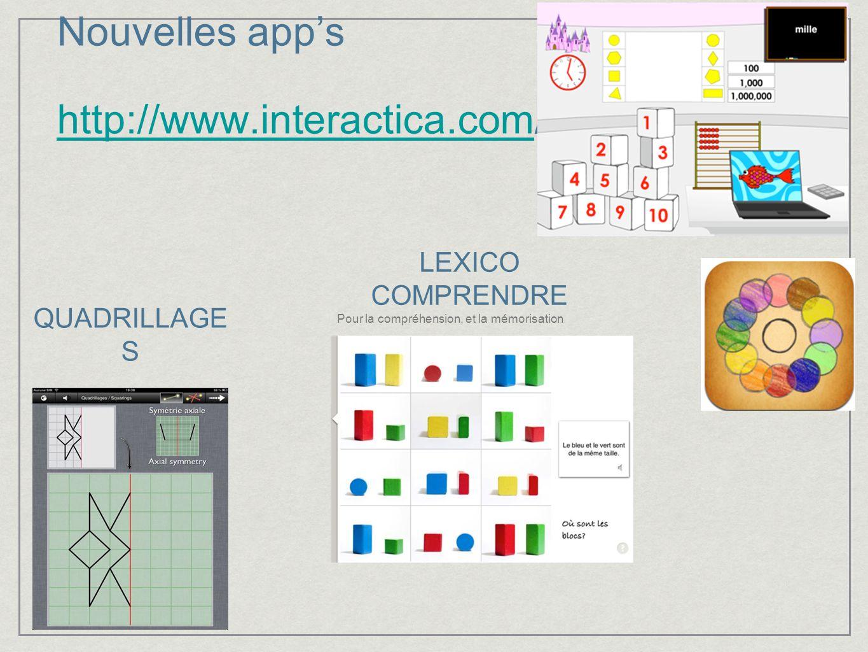 Nouvelles app's http://www.interactica.com/