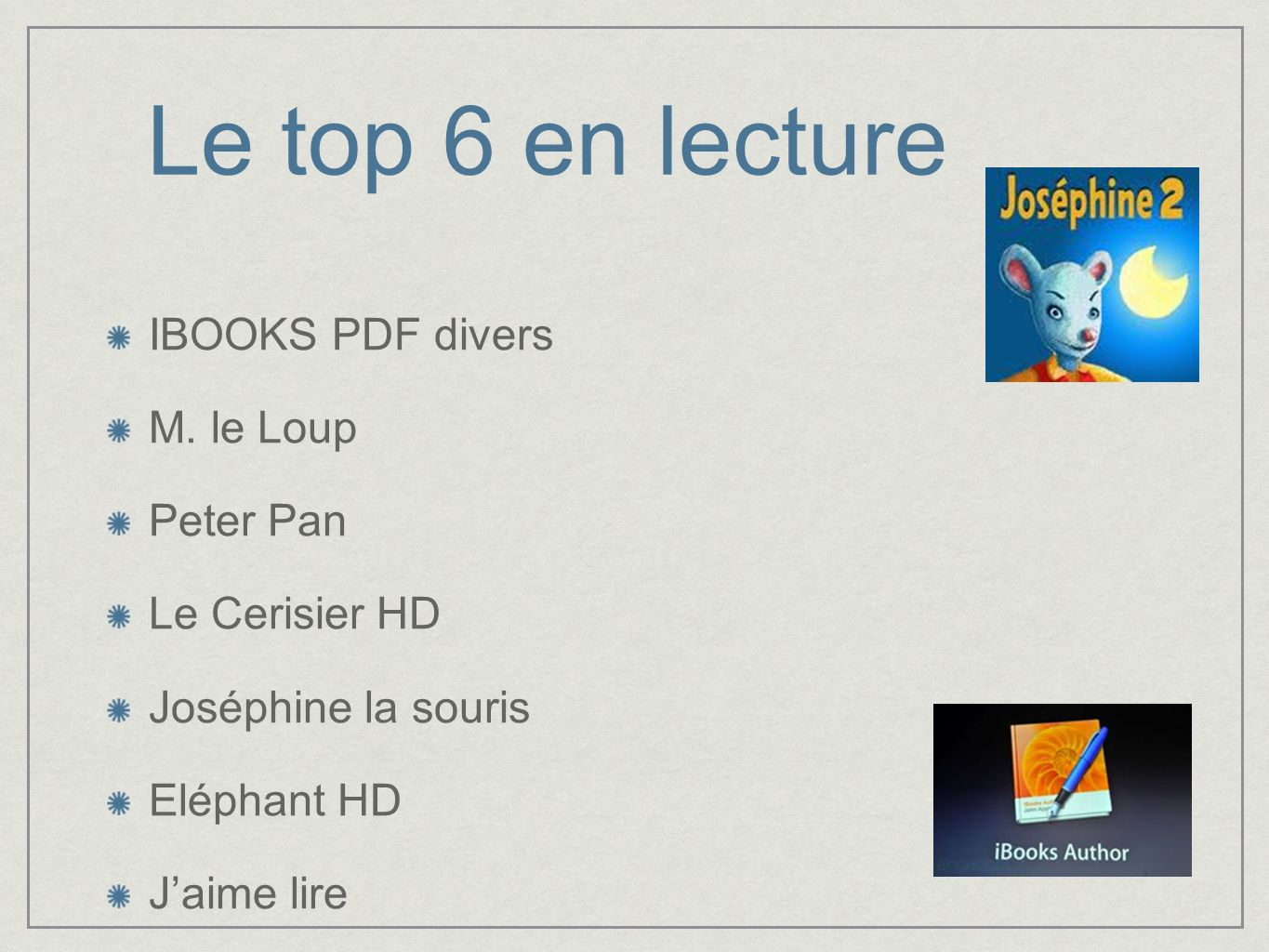 Le top 6 en lecture IBOOKS PDF divers M. le Loup Peter Pan