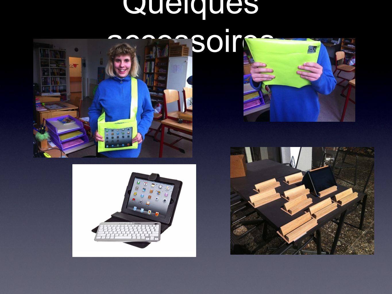 Quelques accessoires