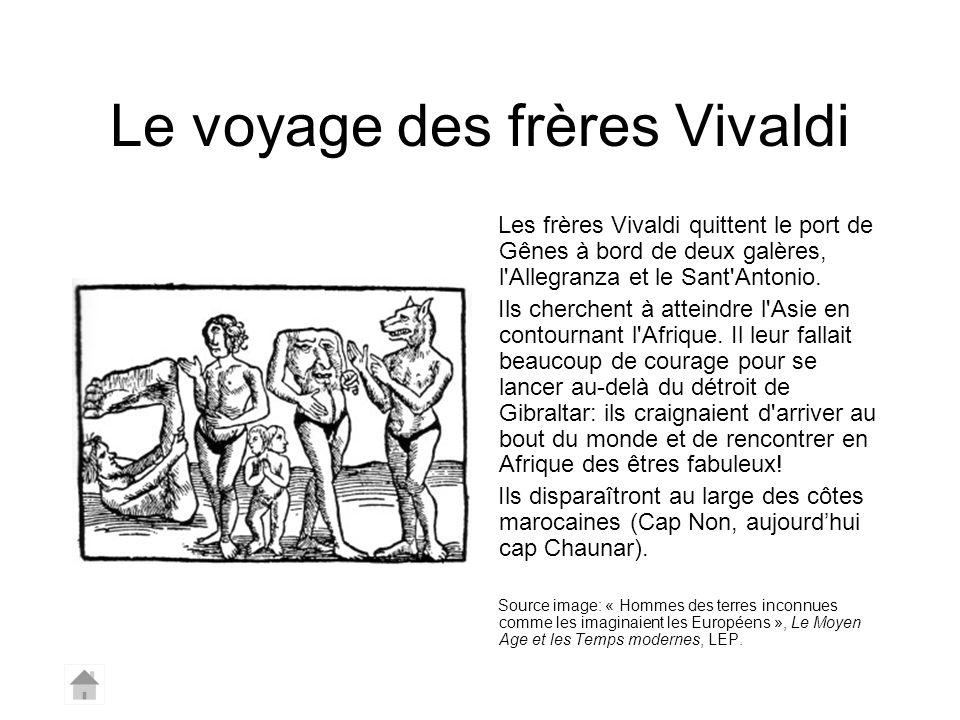 Le voyage des frères Vivaldi