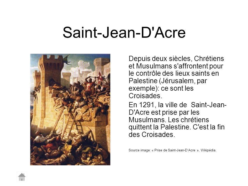 Saint-Jean-D Acre
