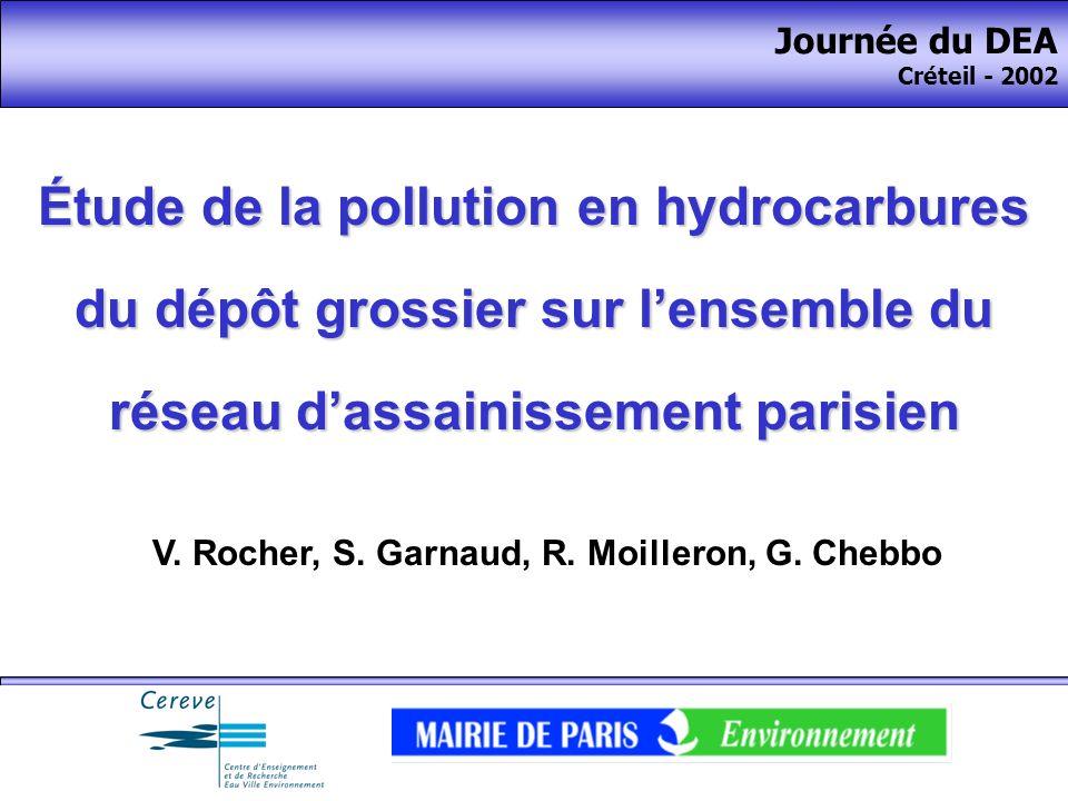 V. Rocher, S. Garnaud, R. Moilleron, G. Chebbo