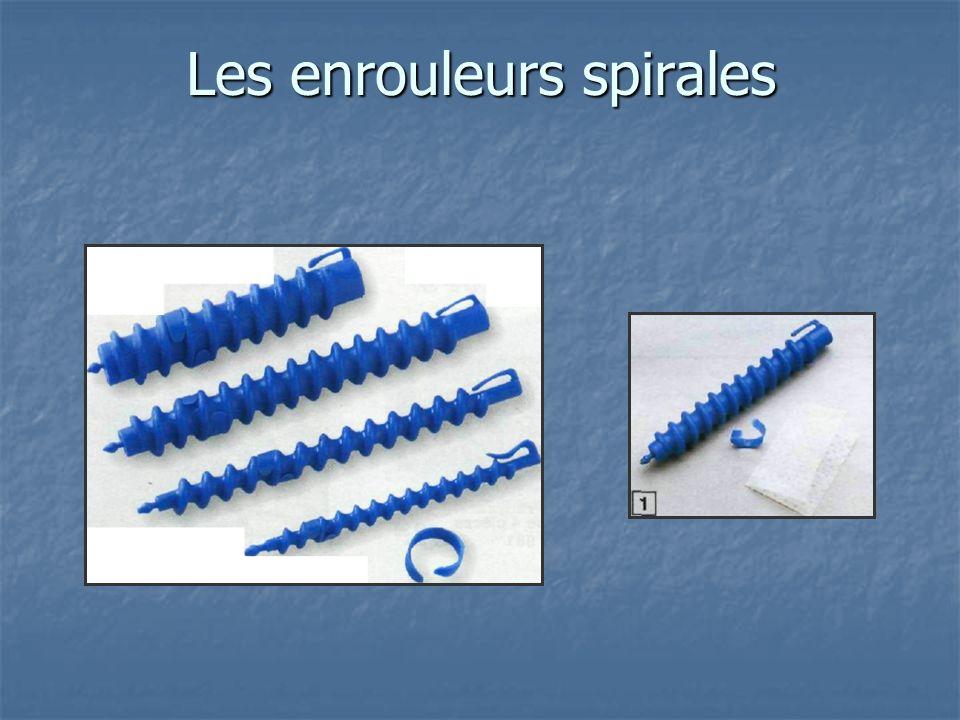 Les enrouleurs spirales