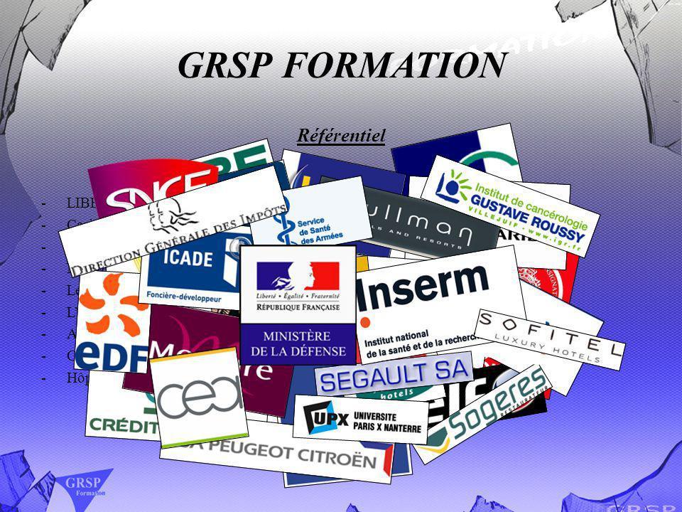 GRSP FORMATION Référentiel LIBERTEL Hôtel Opéra Franklin