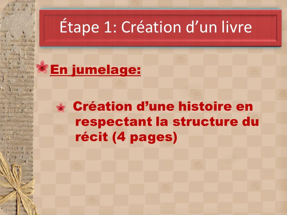 Étape 1: Création d'un livre