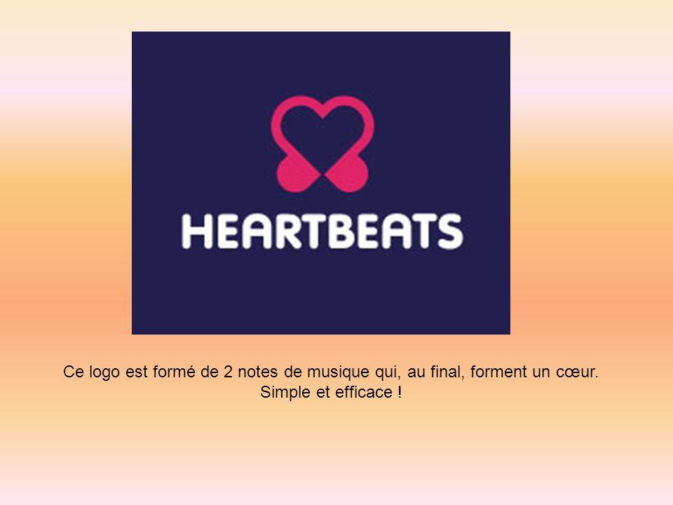 Ce logo est formé de 2 notes de musique qui, au final, forment un cœur