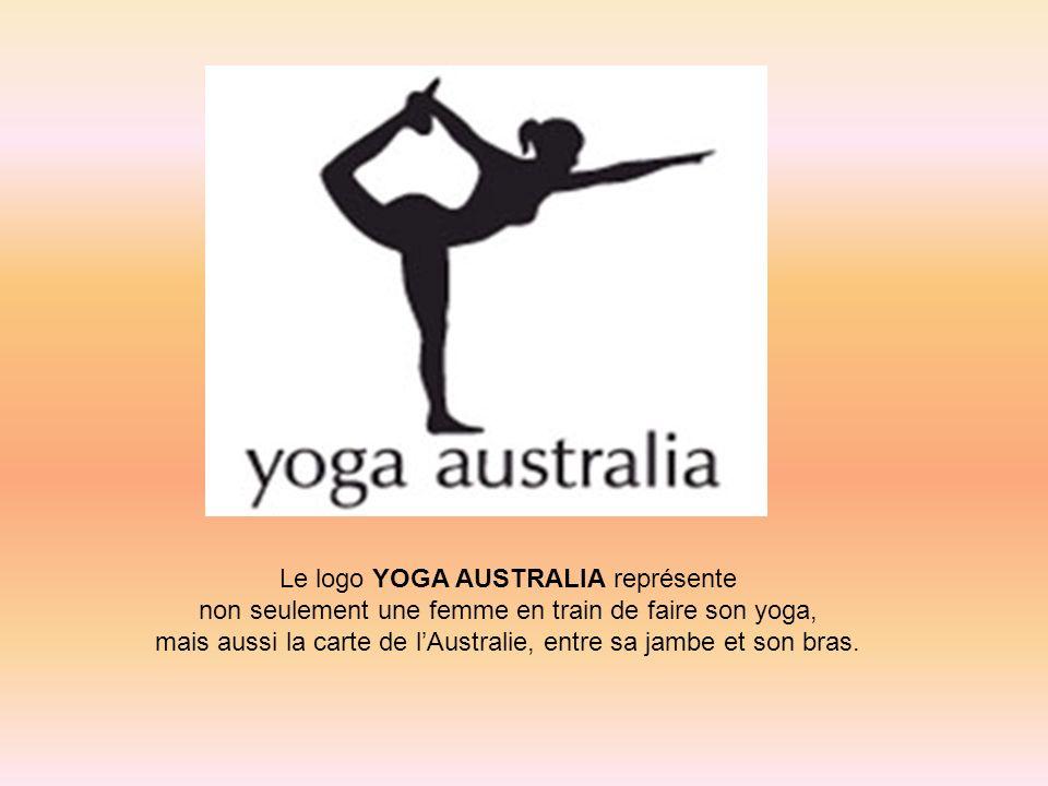 Le logo YOGA AUSTRALIA représente