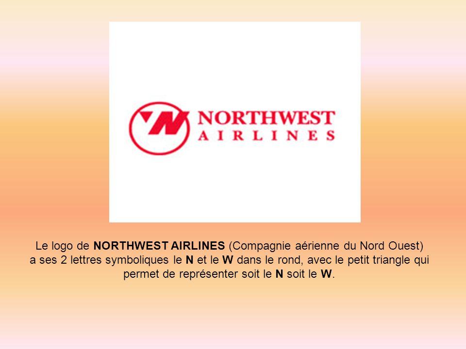 Le logo de NORTHWEST AIRLINES (Compagnie aérienne du Nord Ouest)