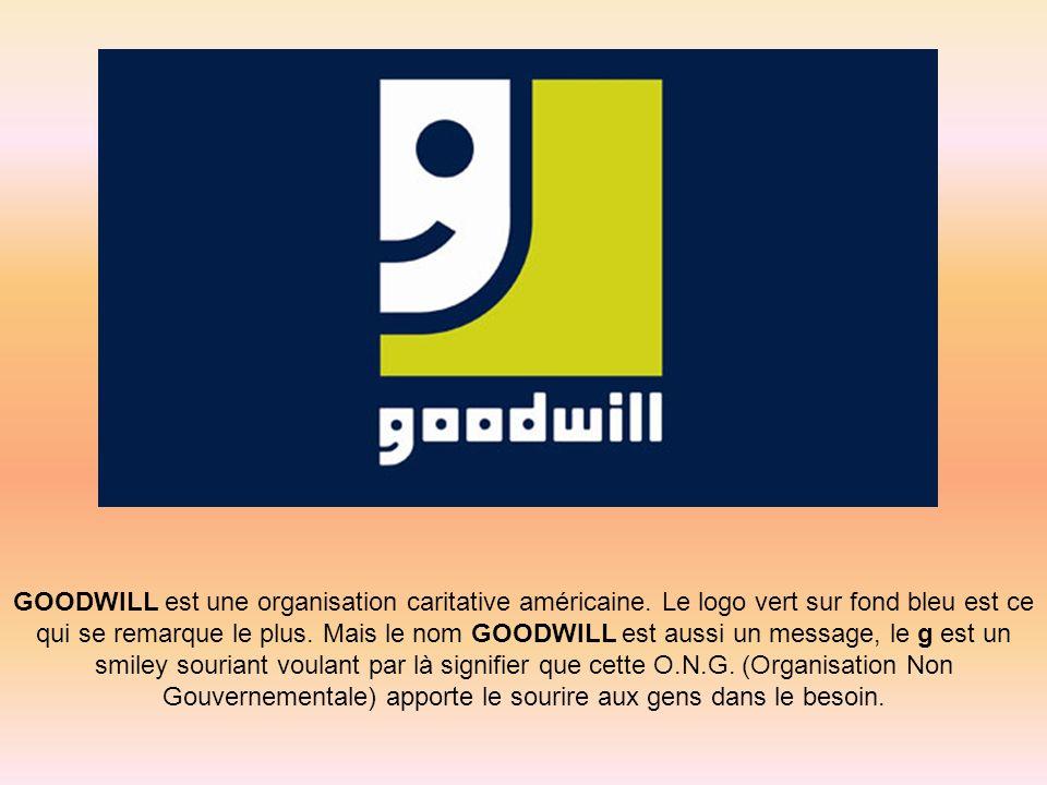 GOODWILL est une organisation caritative américaine