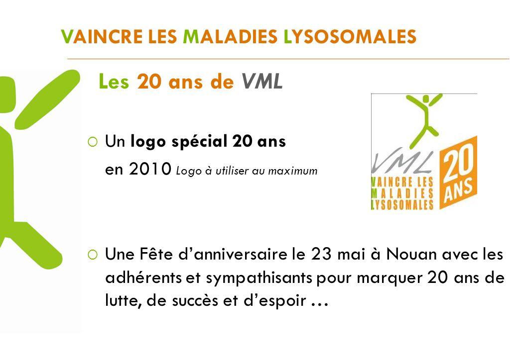 Les 20 ans de VML VAINCRE LES MALADIES LYSOSOMALES