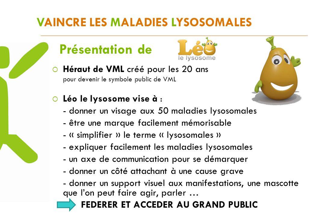 Présentation de VAINCRE LES MALADIES LYSOSOMALES