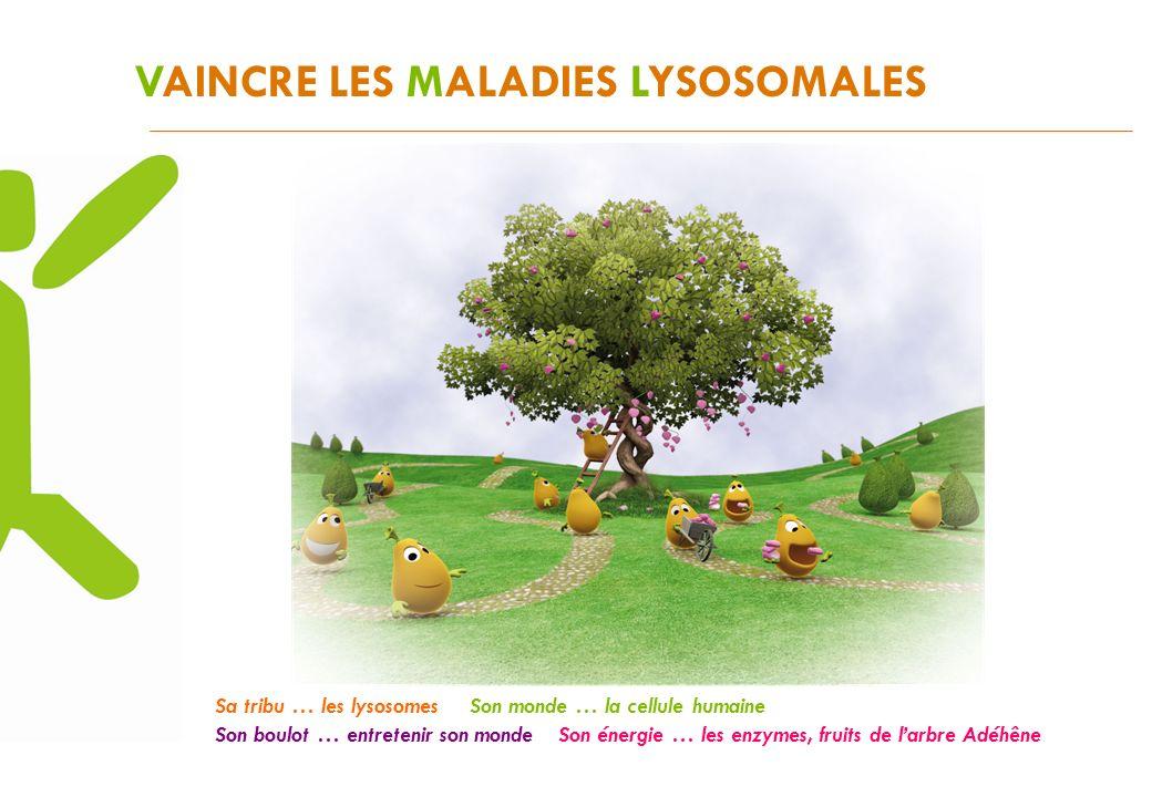 VAINCRE LES MALADIES LYSOSOMALES