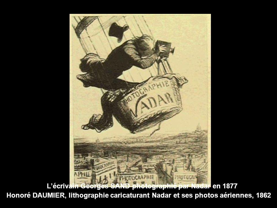 L'écrivain Georges SAND photographié par Nadar en 1877