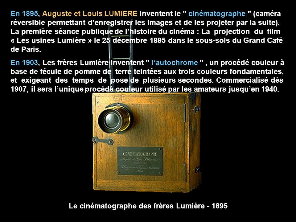 Le cinématographe des frères Lumière - 1895