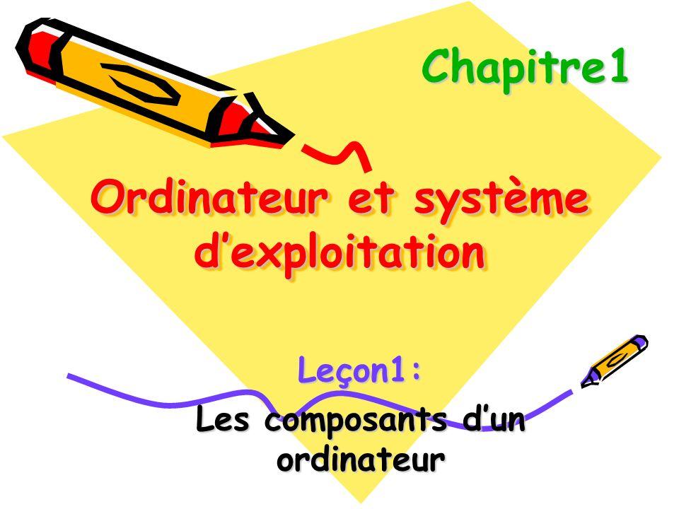Ordinateur et système d'exploitation