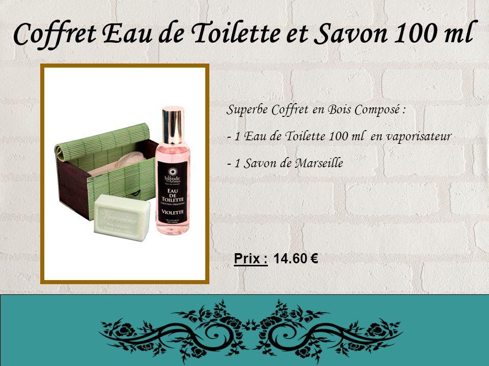 Coffret Eau de Toilette et Savon 100 ml