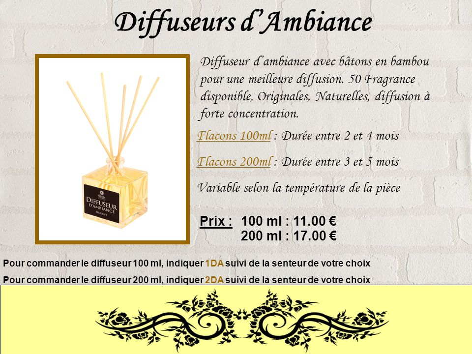 Diffuseurs d'Ambiance
