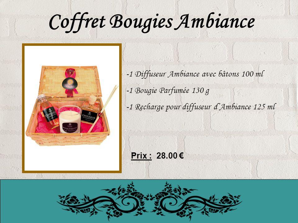 Coffret Bougies Ambiance