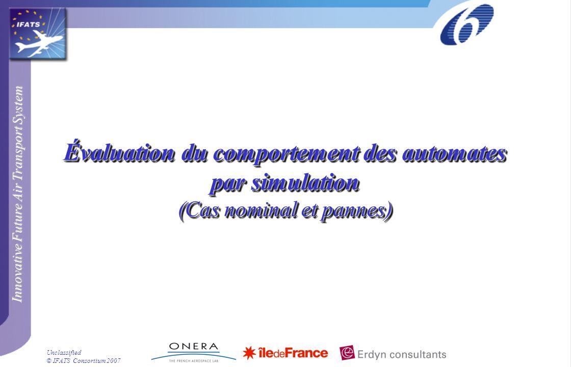 Évaluation du comportement des automates par simulation (Cas nominal et pannes)