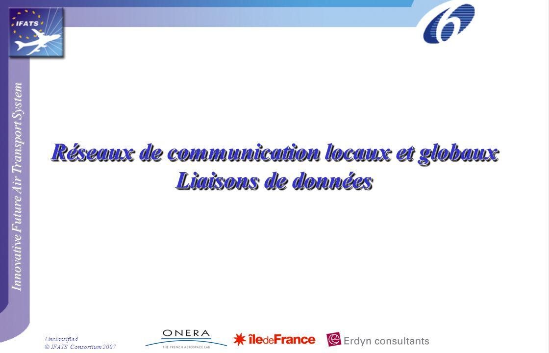 Réseaux de communication locaux et globaux Liaisons de données