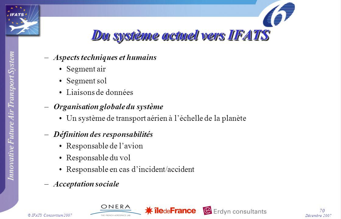 Du système actuel vers IFATS