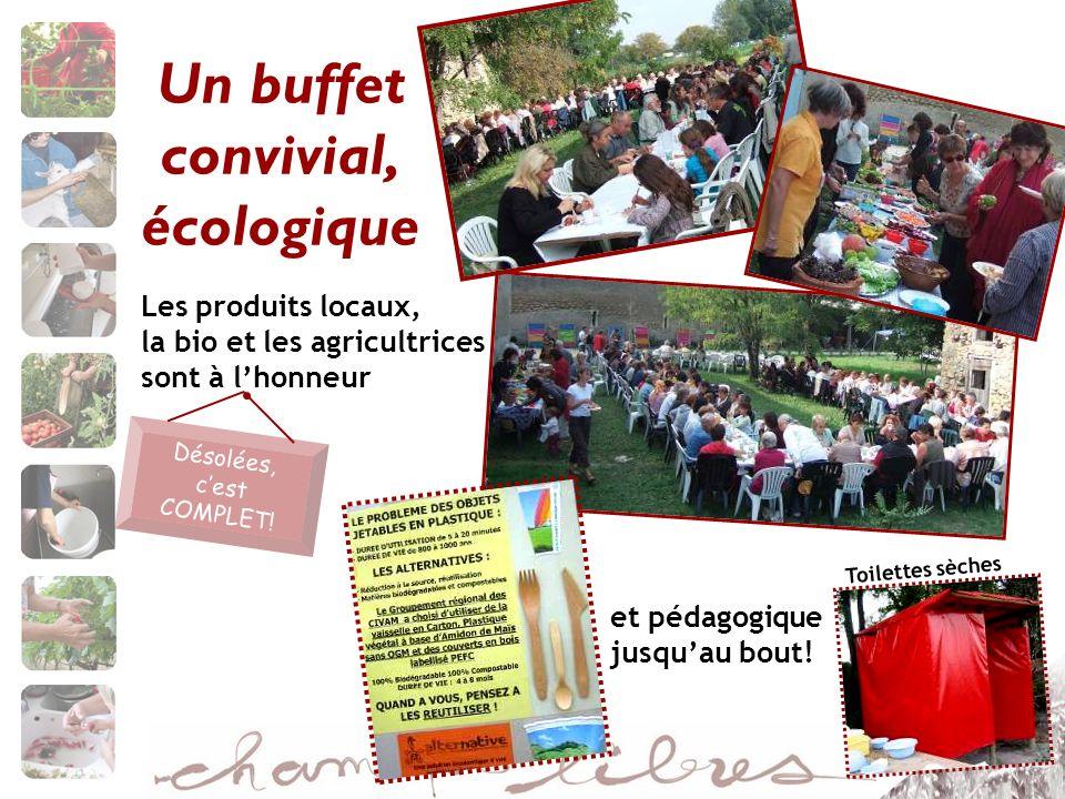 Un buffet convivial, écologique