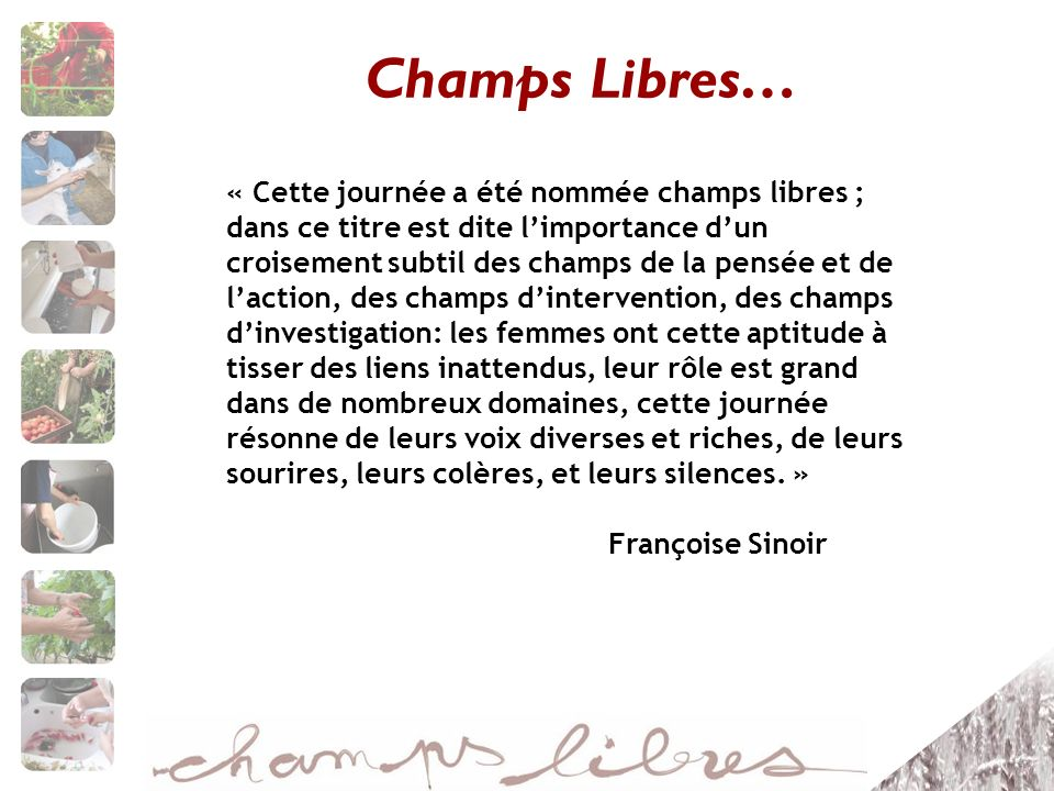 Champs Libres…