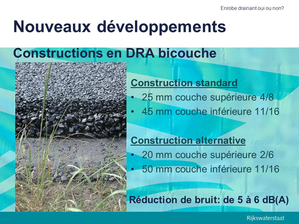 Constructions en DRA bicouche