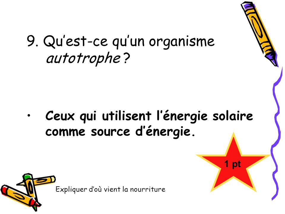 Questionnaire origine de la vie sur terre ppt video for Qu est ce qu un panneau solaire