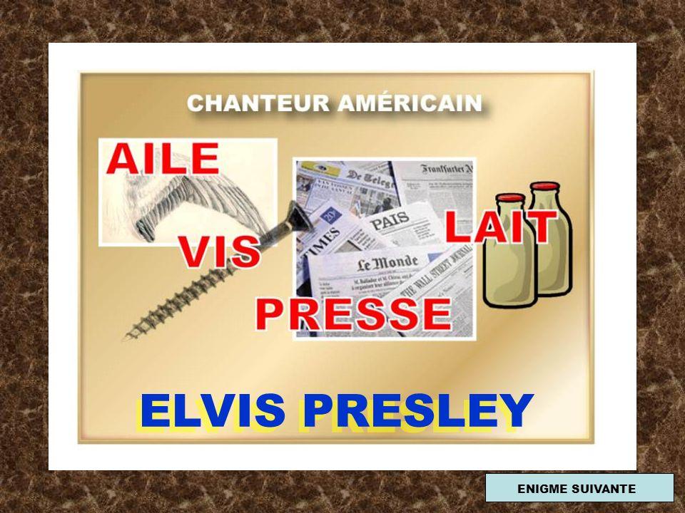 ELVIS PRESLEY ENIGME SUIVANTE