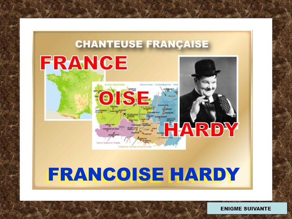 FRANCOISE HARDY ENIGME SUIVANTE