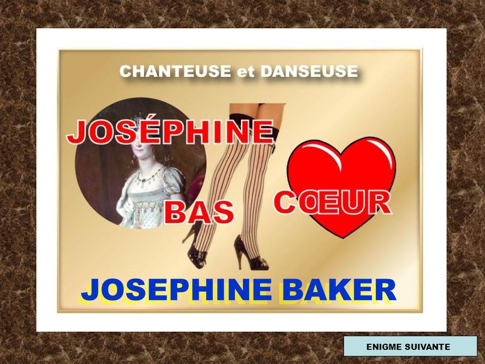 JOSEPHINE BAKER ENIGME SUIVANTE