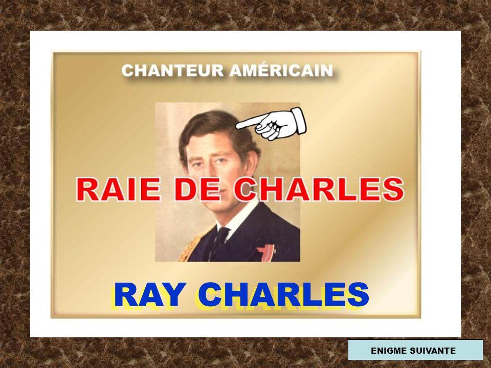 RAY CHARLES ENIGME SUIVANTE