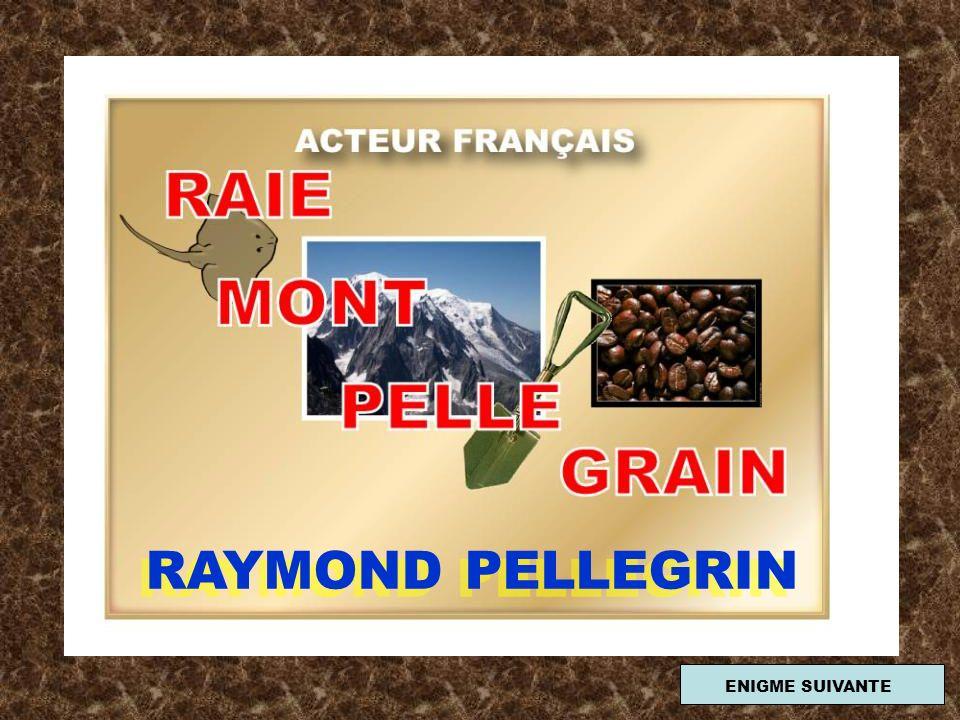 RAYMOND PELLEGRIN ENIGME SUIVANTE