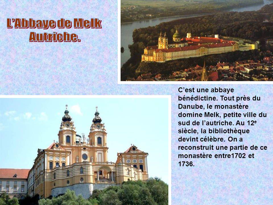 L'Abbaye de Melk Autriche.