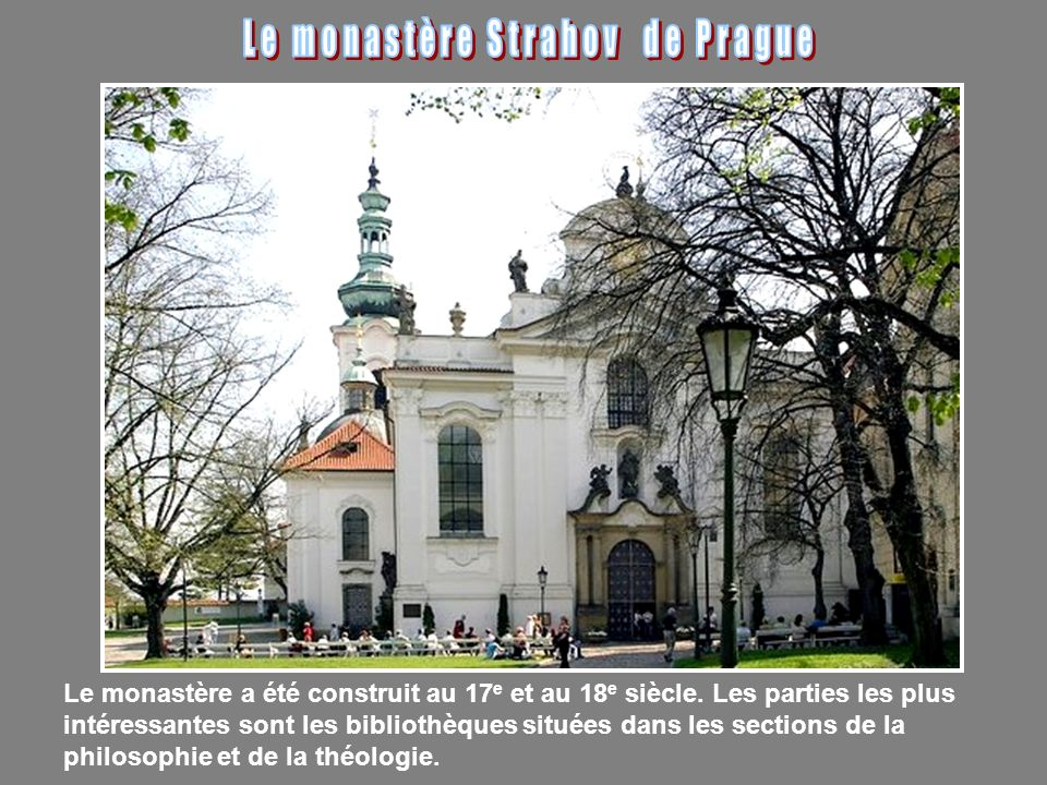 Le monastère Strahov de Prague