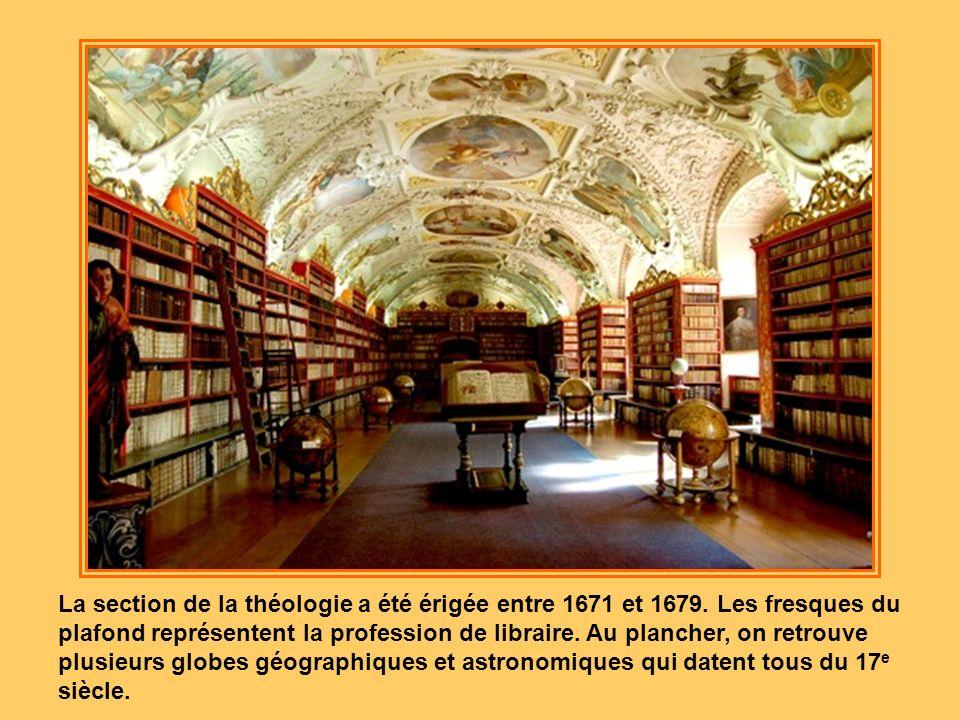 La section de la théologie a été érigée entre 1671 et 1679