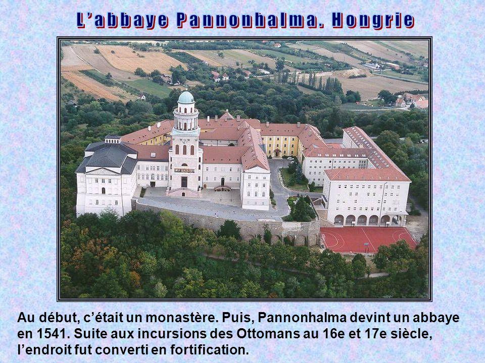 L'abbaye Pannonhalma. Hongrie