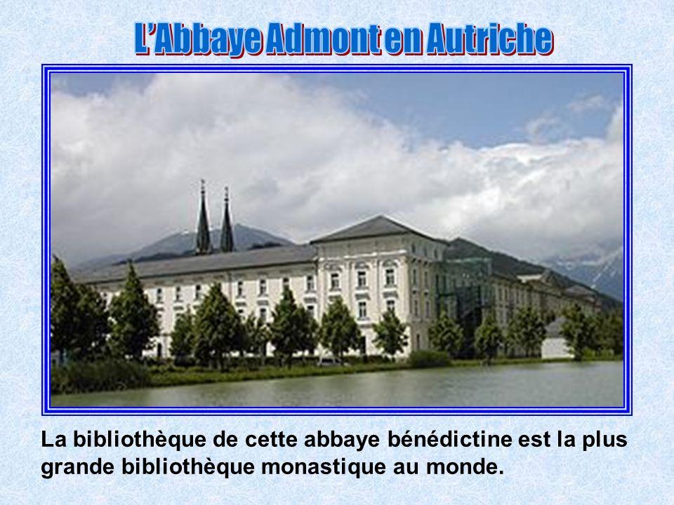 L'Abbaye Admont en Autriche