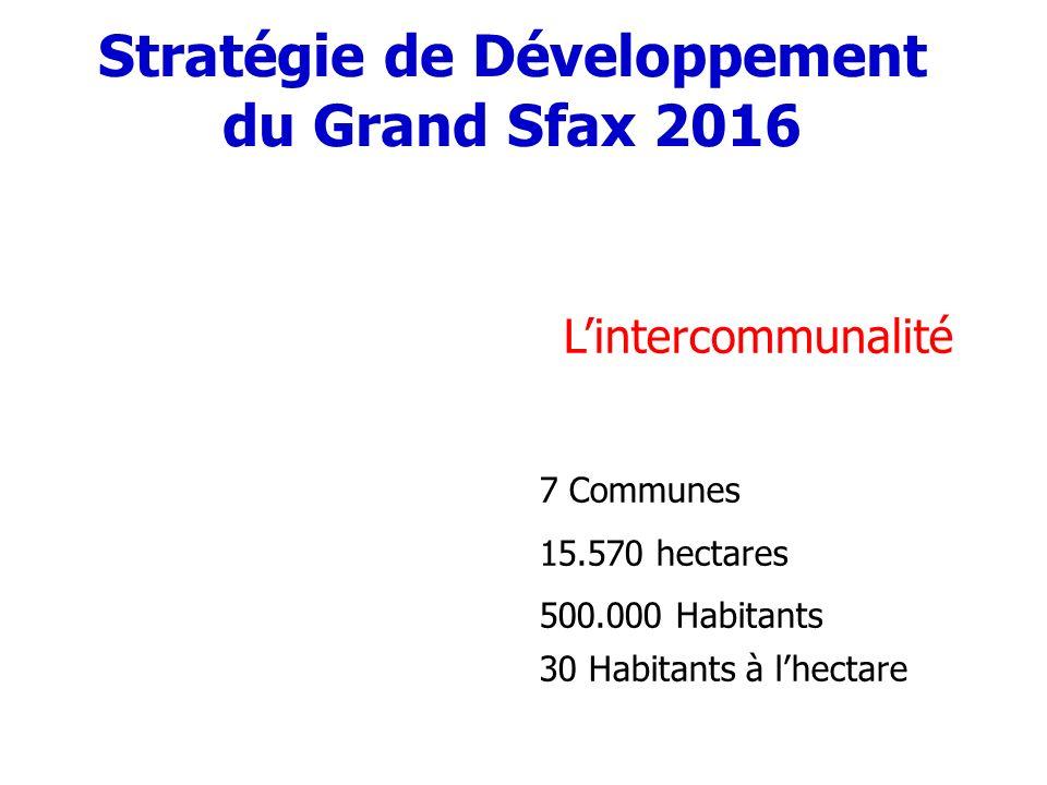 Stratégie de Développement du Grand Sfax 2016