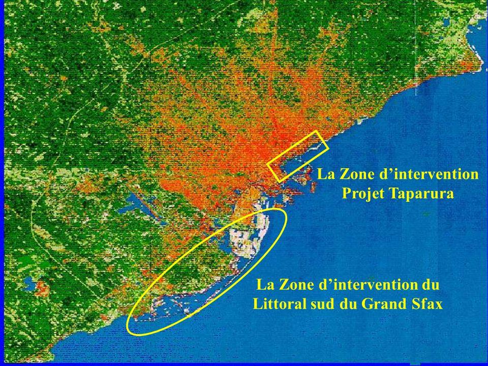 La Zone d'intervention Projet Taparura
